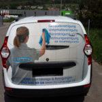 Referenzen, Fahrzeugbeschriftung